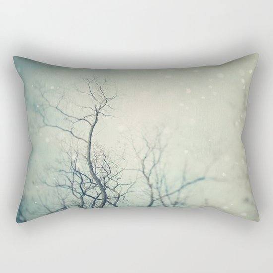 Winter Poem  Rectangular Pillow