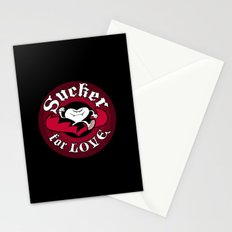 Sucker For Love too Stationery Cards