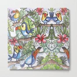 Wild Birds Metal Print