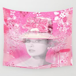 Happy Girl Wall Tapestry
