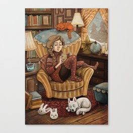 A Perfect Moment Canvas Print