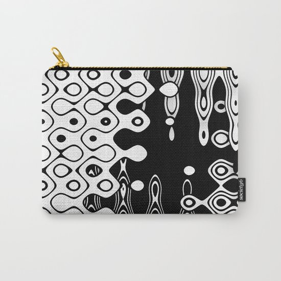Bubblelized waves on the hole Carry-All Pouch