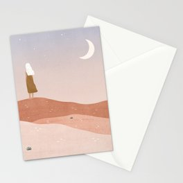 greet the dusk Stationery Cards