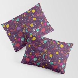 purple seeds Pillow Sham