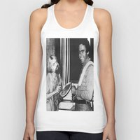 chad wys Tank Tops featuring Ted Bundy, Chad the Chicken by Chad M. White