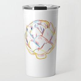 Artichoke Strokes Travel Mug