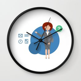 What Would I Do Without My Assistant Wall Clock