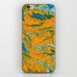 Topographie concepteur 1 portrait version iPhone Skin