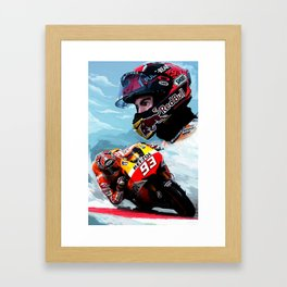 Marquez MM93 Painting Framed Art Print