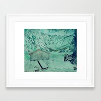 cabin Framed Art Prints featuring Cabin by Aaron Carberry