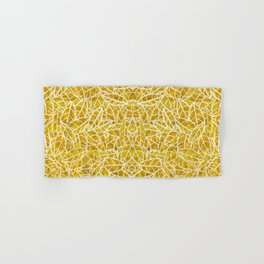 Sketchy Palms in Golden Years Hand & Bath Towel