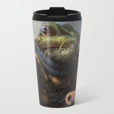 A knightly Frog  Travel Mug