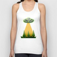 i want to believe Tank Tops featuring I Want To Believe by molmcintosh