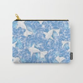 Origami Koi Fishes (Sky Pond Version) Carry-All Pouch