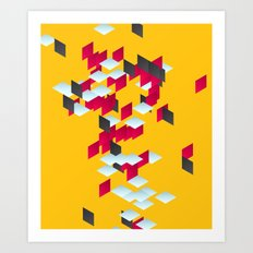 Fresh fragment Art Print