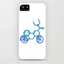 Electric LSD Bike iPhone Case