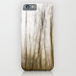 Ghostly forest #3 iPhone Case
