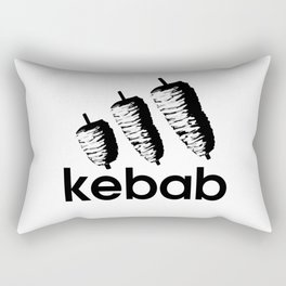 Funny Kebab Rectangular Pillow