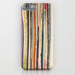 Record Collection iPhone Case