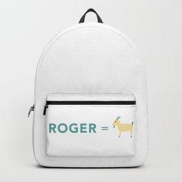 Roger = GOAT Backpack