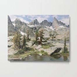 High Sierra Wonderland Metal Print