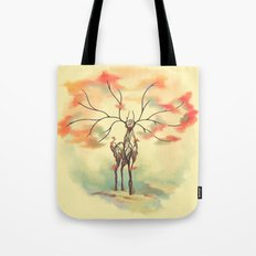 Essence of Nature - A Deer's Echo Tote Bag