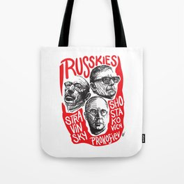 Russkies-Russian composers Tote Bag
