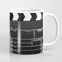 Film Movie Video production Clapper board Coffee Mug