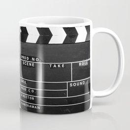 Film Movie Video production Clapper board Coffee Mug