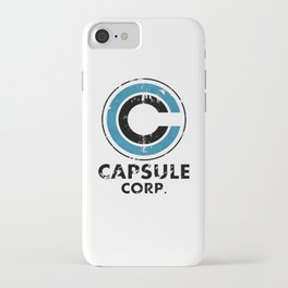 Capsule Corp Vintage bright iPhone Case