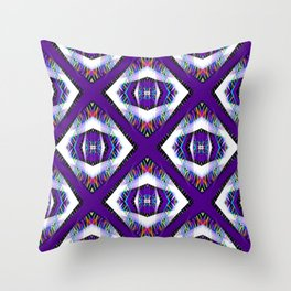 Windows in colors... Throw Pillow