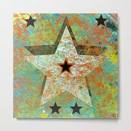 Rustic Star #4 Metal Print