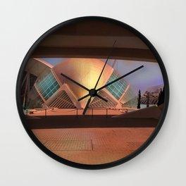 City of Arts and Sciences (Valencia-Spain) Wall Clock
