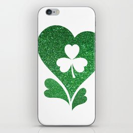 Flag Love St Patrick's Day iPhone Skin