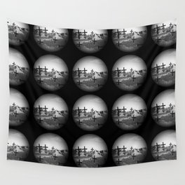 Cross Crystal Ball Wall Tapestry