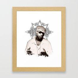 Guru // GangStarr Framed Art Print