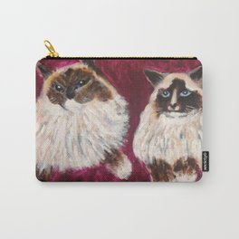 Posing Cats Carry-All Pouch
