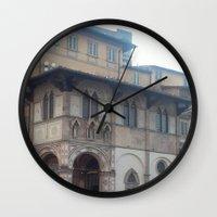 italy Wall Clocks featuring Italy by NekoYuki