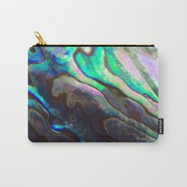 Pearlescent Abalone Shell Carry-All Pouch