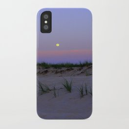 Nighttime at the Beach iPhone Case