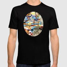 Glitch Pin-Up Redux: Yasmin & Yardley T-shirt