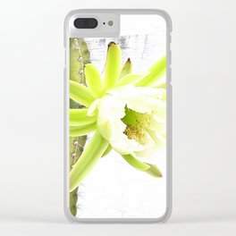 Spiky Delight Clear iPhone Case