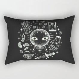 I See Your Future: Glow Rectangular Pillow
