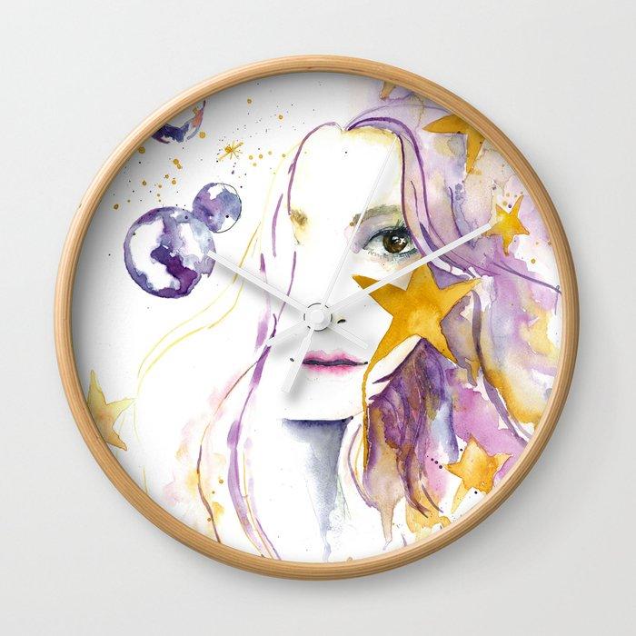 Universe Boho Wall Clock