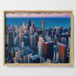 USA Photography - Chicago Serving Tray