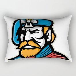 Highlander Mascot Rectangular Pillow