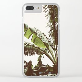 Tropical Winds Clear iPhone Case