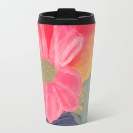 Mother's Day - Painting by young artist with Down syndrome Travel Mug
