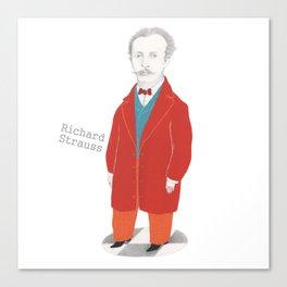 Richard Strauss Canvas Print