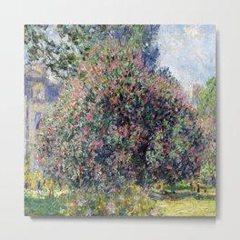 Claude Monet Parc Monceau II Metal Print